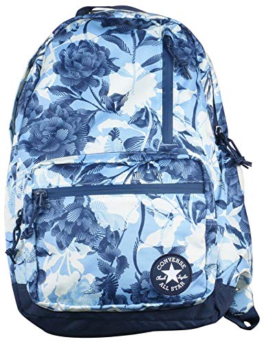 Converse Unisex Graphic Print Go Backpack (Blue/White)
