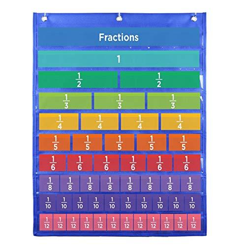 Fraction Tiles Kits Math Bildungslernen Lernmaterial für Kinder im Vorschulalter