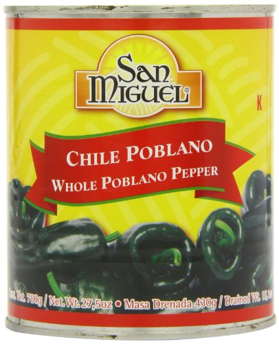 San Miguel Whole Poblano Peppers