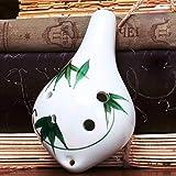 Mouchao Anfänger Keramik 6 Löcher Okarina Flöte Alto C AC