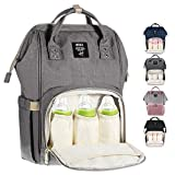 MUIFA Diaper Bag Multi-Function Waterproof Travel Backpack Nappy Bag for Baby Care