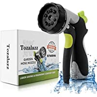 Tozalazz Garden Nozzle High Pressure Heavy Duty Metal Hose Sprayer