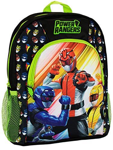 Power Rangers Mochila para Niños Negro