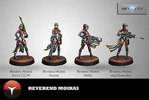 Corvus Belli Revernd Moiras (4) Nomads Infinity by