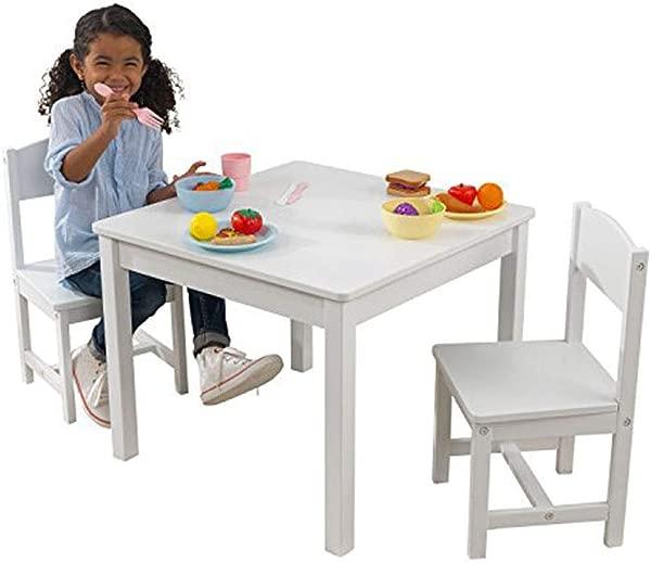 KidKraft Aspen Table And Chair Set White