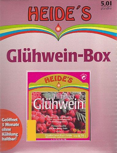 Glühwein Himbeer 9,5% Alc, 5 Liter