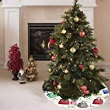 Weihnachtsbaum Rock Bunte Mode Schöne Handtasche Druck Günstige Weihnachtsbaum Rock Polyester Baum...