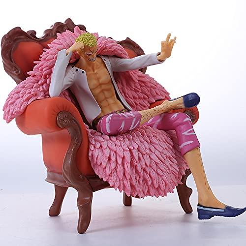 MIRECLE Anime Sofa Dondo Flamenco Modelo de Regalo 23 cm