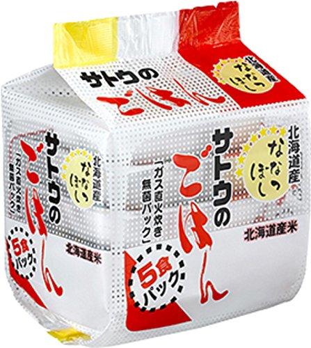 サトウ食品『北海道産ななつぼし』