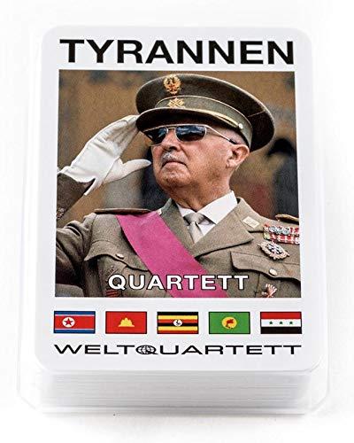 familie von quast Unisex– Erwachsene Tyrannen Teil 1 Quartett Spiel, 9,5 x 6,5 x 1,5