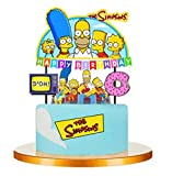 7PC SIMPSON CAKE TOPPERS DECORATION THEME BIRTHDAY A2