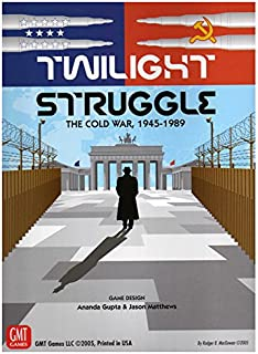 GMT Games 0510-14 Twilight Struggle Deluxe Edition
