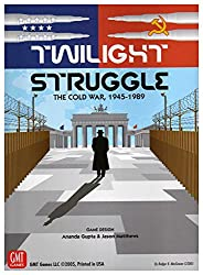 Top Board Games For Couples Twilight Struggle: The Cold War