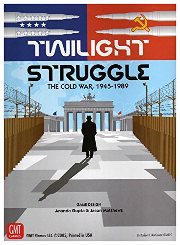GMT Games Twilight Struggle board game - Deluxe Edition