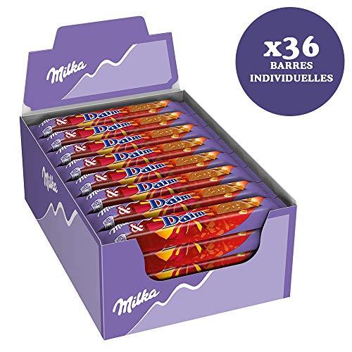 36 x Chocolade Reep Milka Melk & Daim 37 gram