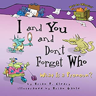 I and You and Don't Forget Who audiobook cover art
