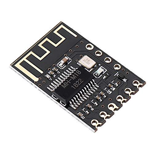 YEZIB Accesorios electrónicos de Bricolaje, M18 Bluetooth 4.2 Módulo Receptor de Audio sin pérdida de la Junta de Altavoz del Coche del Amplificador del Auricular 3pcs Vuelva a Colocar inalámbrica