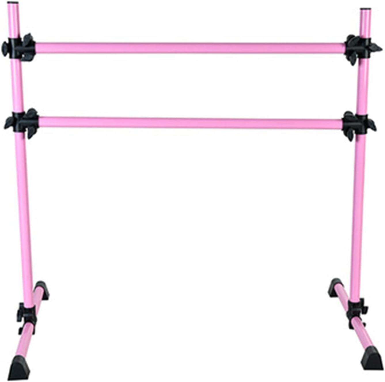QERNTPEY Ballet Bar Barre Max 40% OFF Pink Equipment Columbus Mall Portable