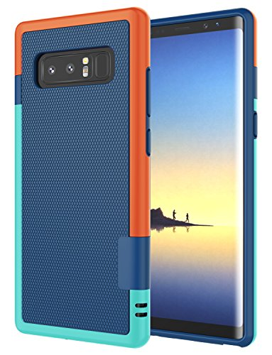 Jeylly Galaxy Note 8 Case, Note 8 Cover, [3 Color] Slim Hybrid Impact...
