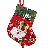 QuanQiao Calcetines de Navidad, calcetines de Navidad, calcetines de Navidad, calcetines de Navidad, calcetines de Papá Noel, calcetines de Navidad