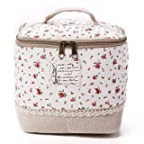 TuToy Multifunction Travel Cosmetic Bag Makeup Case Pouch Toiletry Organizer Case - rot