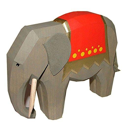 Elefant groß von Lotte Sievers-Hahn Krippenfiguren