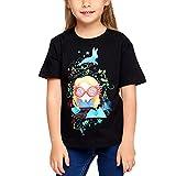 Camiseta Harry Potter para niños Chibi Luna Lovegood Bosque Elfo Cotton Black - 122/128