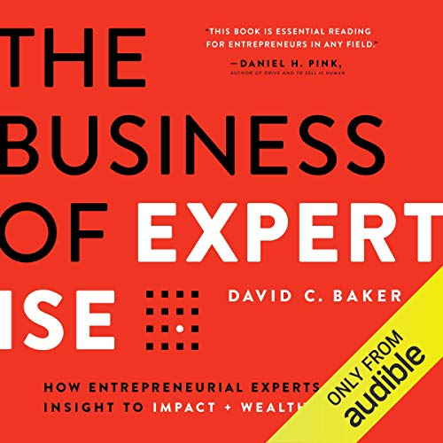 Couverture de The Business of Expertise