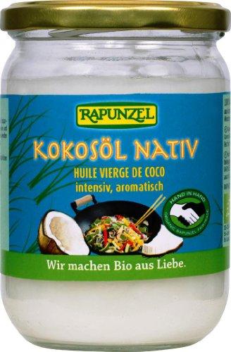 Rapunzel Kokosöl, nativ, 4er Pack (4 x 400 g) - Bio