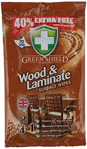 Unbekannt Greenshield Holz- und Laminat-Tücher, 40% extra 70 Stück