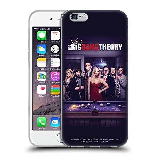 Head Case Designs Licenza Ufficiale The Big Bang Theory Stagione 11 C Arte Chiave Cover in Morbido Gel Compatibile con Apple iPhone 6 / iPhone 6s