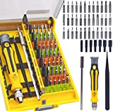 46 in 1 Precision Electronic Screwdriver Set R'deer Magnetic Professional Repair Tools Kit with Extension Bar and Tweezers