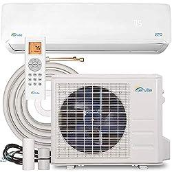 commercial Senville SENL-09CD Mini Split Heat Pump Air Conditioner 9000BTU 110 / 120V White panasonic air conditioner