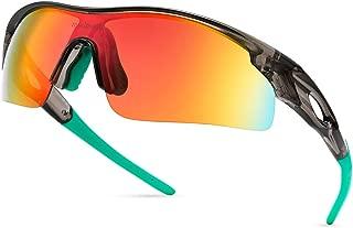 Men Sports Sunglasses Polarized for Baseball Fishing...