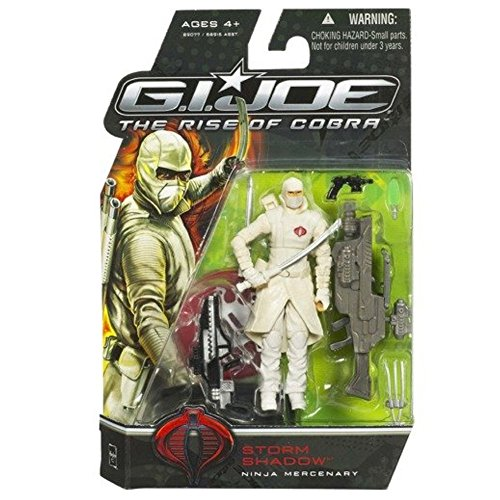G.I. Joe The Rise of Cobra 3 3/4' Action Figure Storm Shadow (Ninja Mercenary)