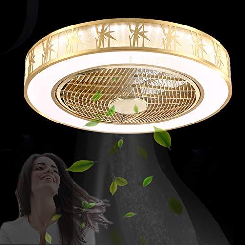 Ventilador de techo chino Dormitorio Ventilador de techo LED Ventilador de techo silencioso con ventiladores de araña de luz Ventilador de techo Dormitorio con luces Ventilador de techo