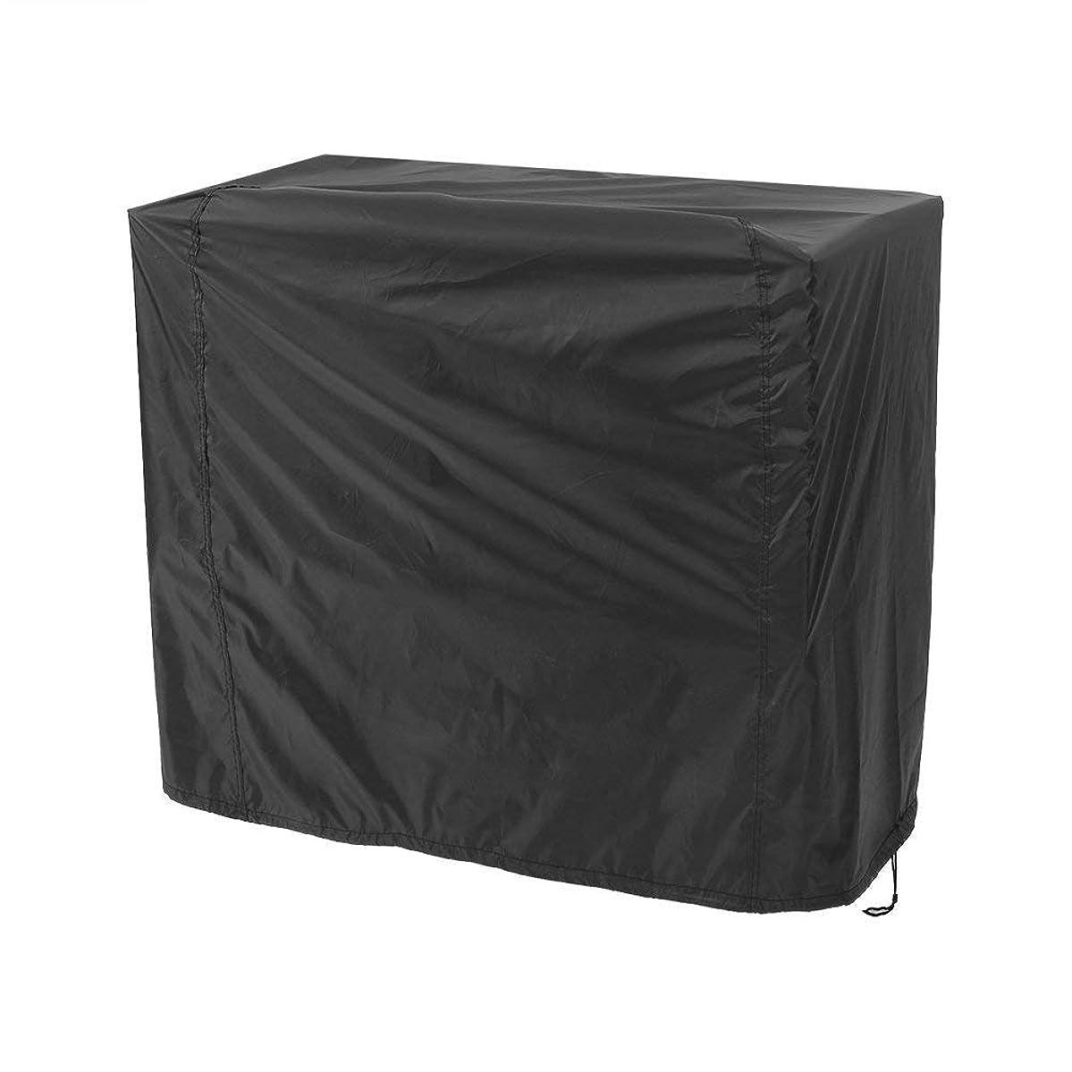 遠近法アクセント悪のbbqコンロ カバー -Dewin ファニチャーカバー、防水、防塵、防風、多機能、ロープ内蔵、収納袋 (Size : S)