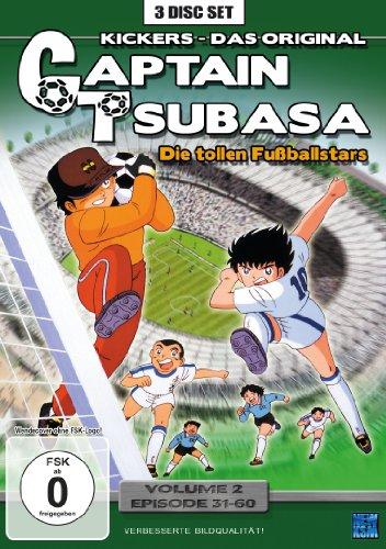 Captain Tsubasa: Die tollen Fußballstars - Volume 2, Folge 31-60 (DVD)