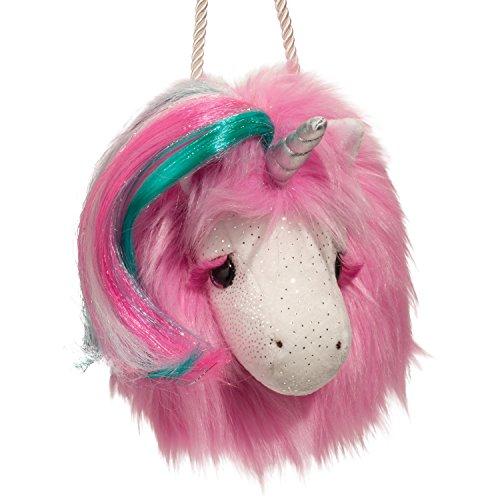 Cudddle Toys 1140 Pink Unicorn Crossbody eenhoorn roze knuffeldier pluche speelgoed kindertas schoudertas tas kids bag
