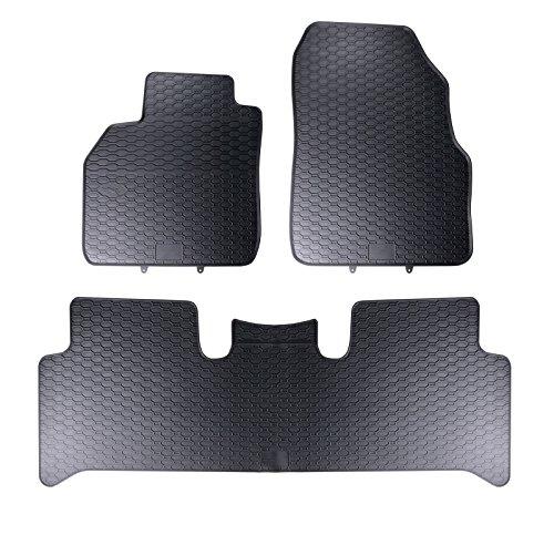 Tapis de sol sur mesure pour 1199111210041 set de 4 tapis de voiture noir