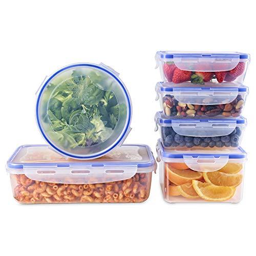 10 pack 1 compartiment Bpa-Free Réutilisable Meal Prep conteneursPlastique Alimentaire