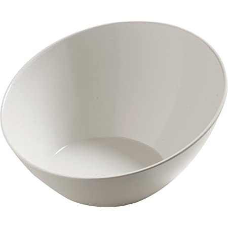 Amazon Com Carlisle 5554637 Balsam Melamine Angled Serving Bowl 3 Qt Capacity Bavarian Cream Industrial Scientific