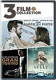 3FF: AmericanSniper/GranTorino/Sully (DVD)