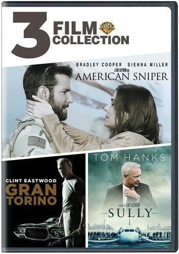 Dvd - American Sniper / Gran Torino / Sully (2 Dvd) [Edizione: Stati Uniti] (1 DVD)