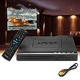 GKD Reproductor portátil de DVD, 110V / 220V EVD Jugador de múltiples Funciones de DVD Multi-ángulo de visualización y Zoom Películas favoritas agradables