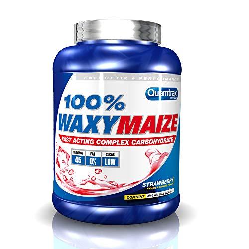Quamtrax Waxy Maize Sabor Fresa - 2200 gr