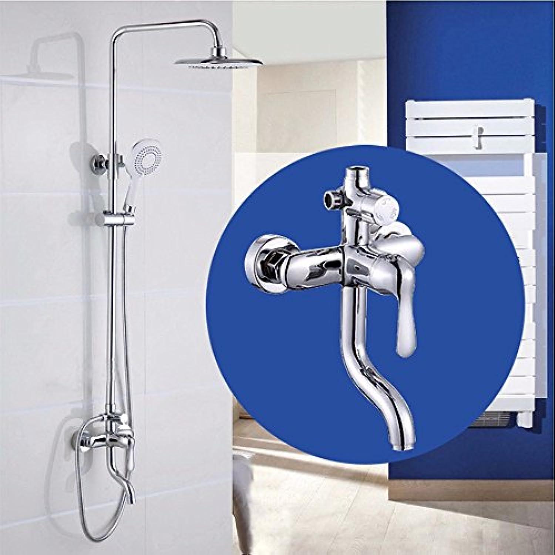 Bijjaladeva Antike Badezimmer Regen Mixer Dusche Regendusche Hahn System Tippen Kupfer Dusche Dusche Badewanne Lift Wasserhahn Dusche Kit Dusche