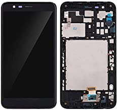 LCD Display Touch Screen Digitizer New Assembly Replacement for LG K10 (2018) K30 LMX410 LMX410TK Black with Frame 5.3 inch