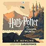 Harry Potter y la cámara secreta (Harry Potter 2)                   By:                                                                                                                                 J.K. Rowling                               Narrated by:                                                                                                                                 Carlos Ponce                      Length: 9 hrs and 42 mins     132 ratings     Overall 4.9