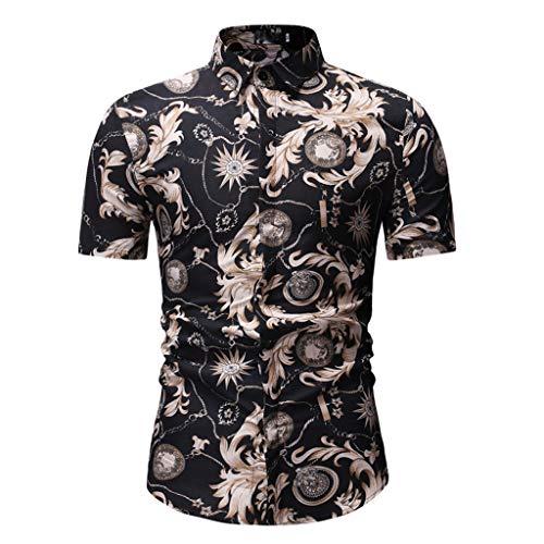 Xmiral T Shirt Uomo Vintage T Shirt Donna Divertenti Camicetta Maglietta Maglietta Mates Maglietta Uomo Manica Corta Sport Tee Maglia Maglietta Maglietta A Uomo Sportswear M Nero